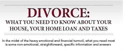 What you need to know about divorce home sale